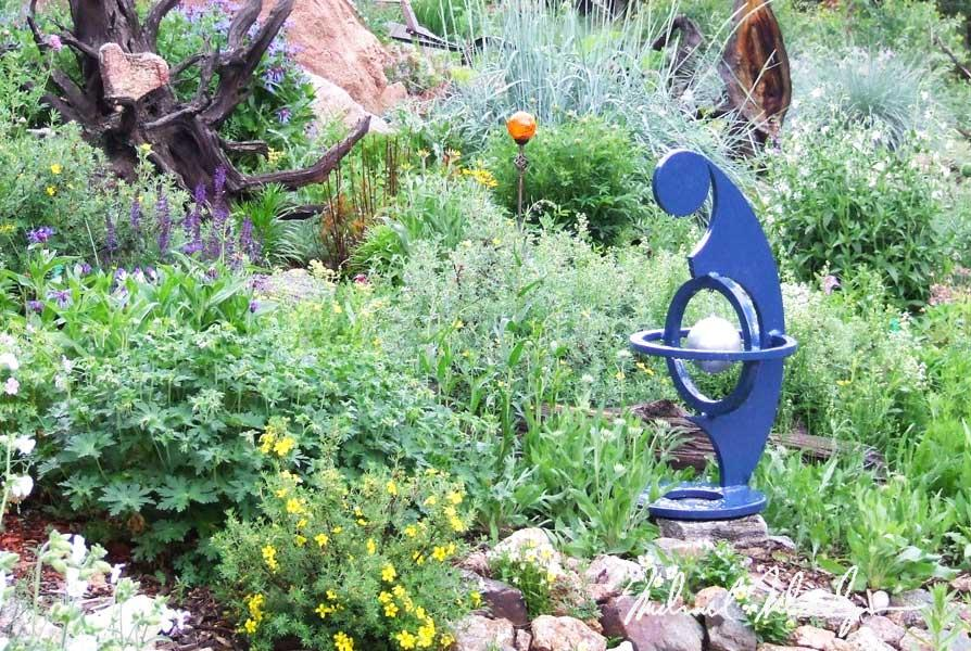 """36"""" x 18""""W - MATERNITY (Commissioned) - Powder Coated - $850"""
